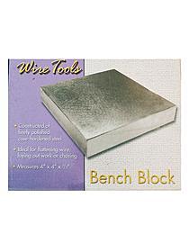 Steel Bench Block 4 in. x 4 in. x 1 2 in. each