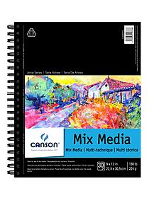 Artist Series Mix Media Book 9 in. x 12 in. 30 sheets