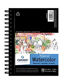Artist Series Watercolor Book 9 in. x 12 in. 20 sheets