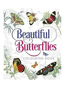 Adult Coloring Books Coloring Butterflies