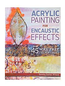 Acrylic Painting for Encaustic Effects each