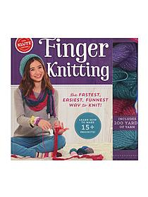 Finger Knitting each