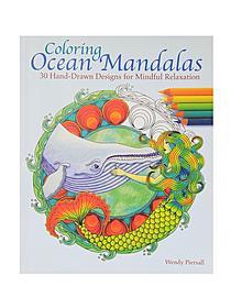 Coloring Ocean Mandalas each