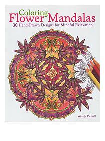 Coloring Flower Mandalas each