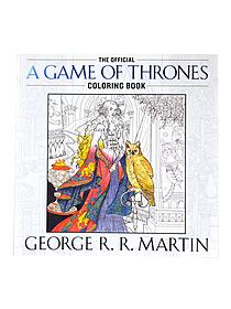 The Official A Game of Thrones Coloring Book each