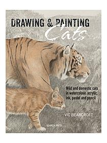 Drawing & Painting Cats each