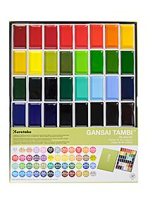 Gansai Tambi Watercolor Sets set of 12