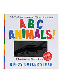 ABC Animals!: A Scanimation Pictue Book