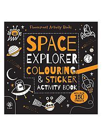 Space Explorer Colouring & Sticker Activity Book each