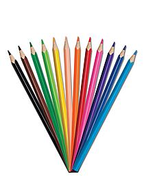 Triangular Colored Pencil Sets