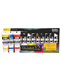 Classic 12 Heavy Body Acrylic Color Set set of 12