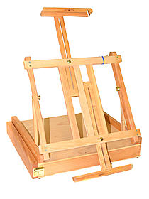 Arun Wood Table Easel Box