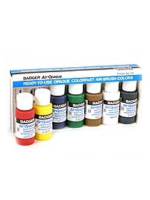 Air-Opaque Airbrush Color Kit