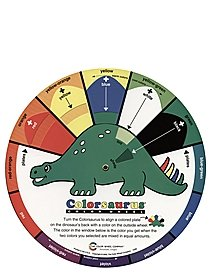 Colorsaurus Children's Color Wheel