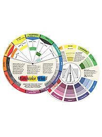 Watercolor Wheel watercolor color wheel