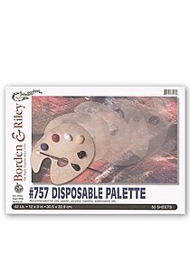 #757 Disposable Palette Pad