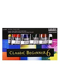 Classic 6 Heavy Body Acrylic Color Beginner