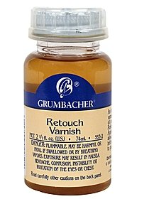 Retouch Varnish 2 1 2 oz. bottle