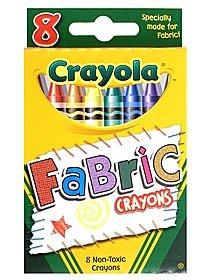 Fabric Crayons box of 8