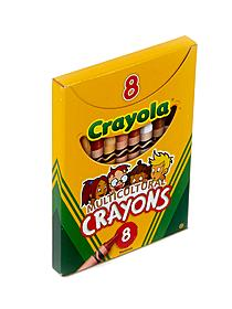 Multicultural Crayons large box of 8 67023