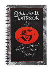 Lettering Books speedball textbook, 24th edition