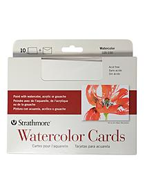 Watercolor Blank Greeting Card