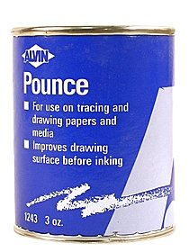 Vellum Cleaning Powder (Pounce)