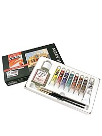 Winton Oil Colour Painting Set