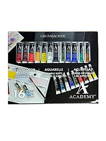 Academy Watercolor Artists' Sketchbox Set