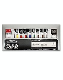 Artists' Acrylic Colour Painting Set