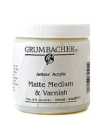 Artists' Acrylic Matte Medium & Varnish