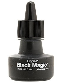 Black Magic Waterproof Ink