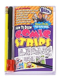 How to Draw Comic Strips Kit