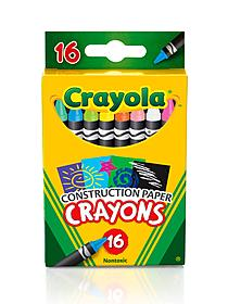 Construction Paper Crayons box of 16 41968