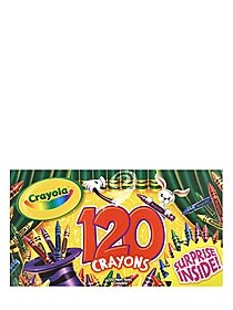 Colossal Box of Crayons set of 120