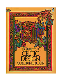 Celtic Design-Coloring Book