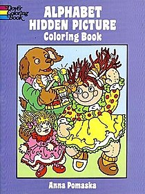 Alphabet Hidden Picture Coloring Book Alphabet Hidden Picture Coloring Book