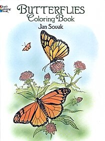 Butterflies Coloring Book Butterflies Coloring Book