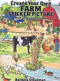 Create Your Own Farm Sticker Picture