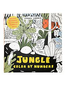 Color by Numbers jungle 57591