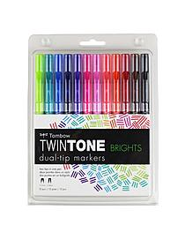 TwinTone Dual Tip Markers