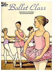 Ballet Class Coloring Book Ballet Class Coloring Book
