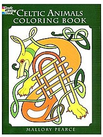 Celtic Animals Coloring Book