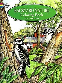 Backyard Nature Coloring Book Backyard Nature Coloring Book