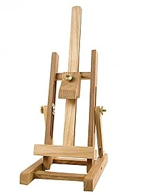 Mini H-Frame Hardwood Display Easel