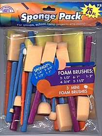 Sponge Pack Brushes