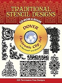 Traditional Stencil Designs CD-ROM and Book