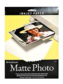 Digital Photo Paper matte 8.5 in. x 11 in. pack of 15