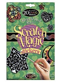 Scratch Magic Stickers