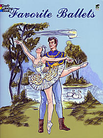 Favorite Ballets Coloring Book Favorite Ballets Coloring Book